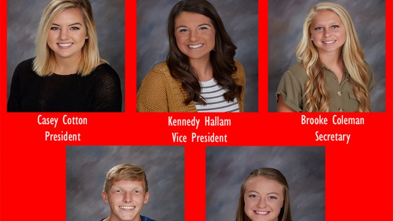 Student Council Officers 2020